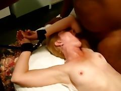 Golden-Haired wife fastened and abased another time