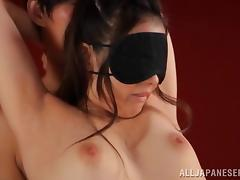 Pretty Japanese Beni Itou gets her cooch fingered and drilled