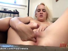 Vagina, Amateur, Big Tits, Blonde, Boobs, Fingering