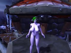 Night elf dance