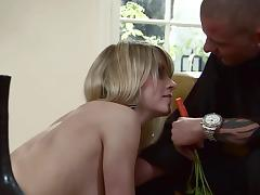 Lacie Heart gets her ass stuffed with dick and her mouth filled with cum