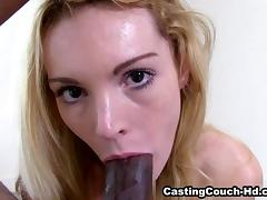 Audition, Audition, Blowjob, Casting, Interracial, POV