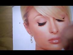 Cum Tribute - Paris Hilton