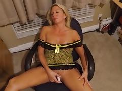 Wife cums watching a tribute to her